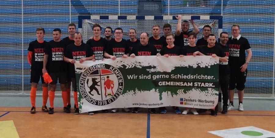 Seniorenschiedsrichtermannschaft der Schiedsrichtervereinigung Kempen-Krefeld