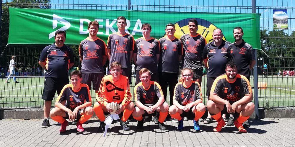 Juniorenschiedsrichtermannschaft der Schiedsrichtervereinigung Kempen-Krefeld