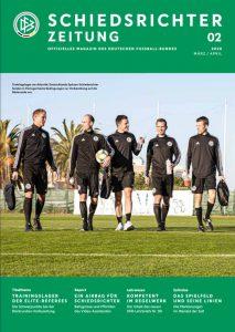 Cover der Schiedsrichterzeitung