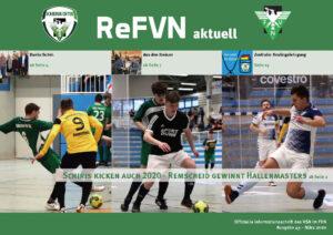 Cover der ReFVN aktuell