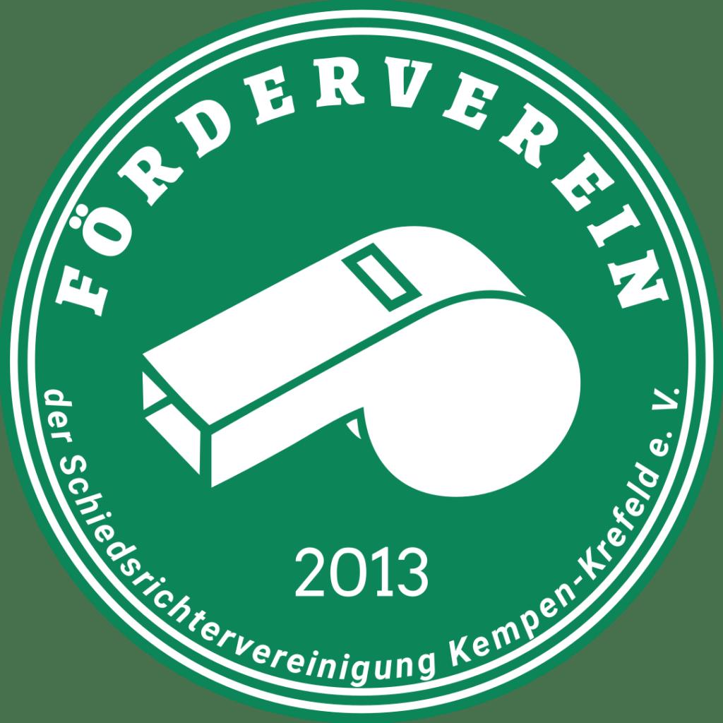 Logo des Fördervereins der Schiedsrichtervereinigung Kempen-Krefeld e. V.