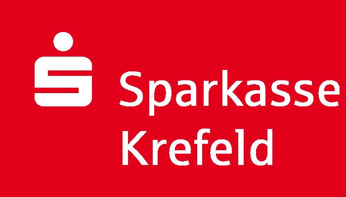 Logo der Sparkasse Krefeld - Präsentiert die Ansetzungen