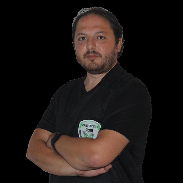 Mustafa Bostanci - Schiedsrichter der Schiedsrichtervereinigung Kempen-Krefeld
